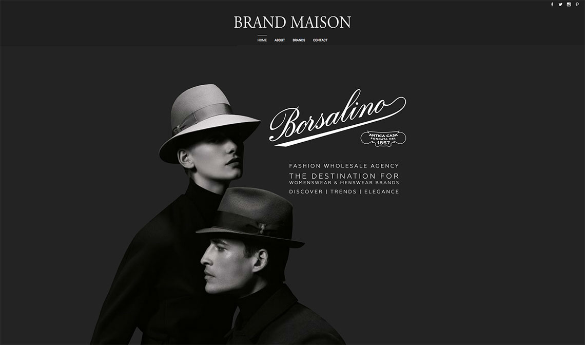 Brand Maison - London Web Design